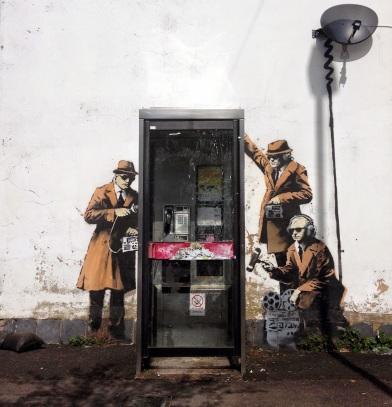 Banksy-in-Cheltenham-England