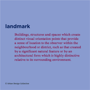 Urban Design Word-a-day- Landmark