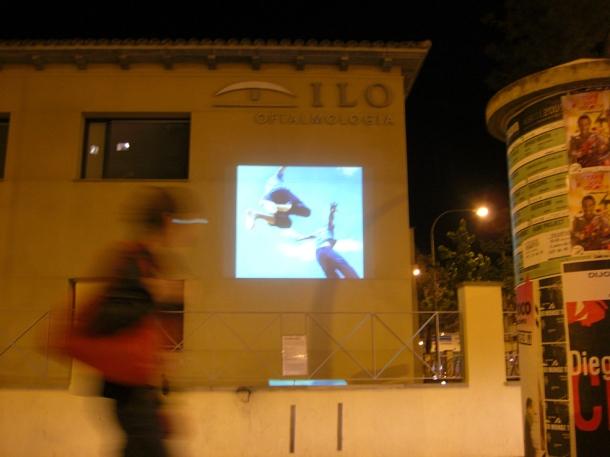 elmur video installation Lleida