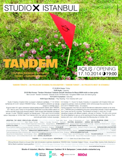 TANDEM Sergi Studio X