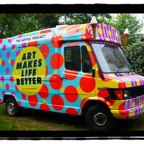 An affordable art gallery on wheels!? Introduccing: The ArtfulProject.