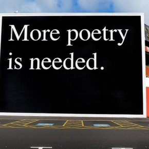 More Poetry is Needed.